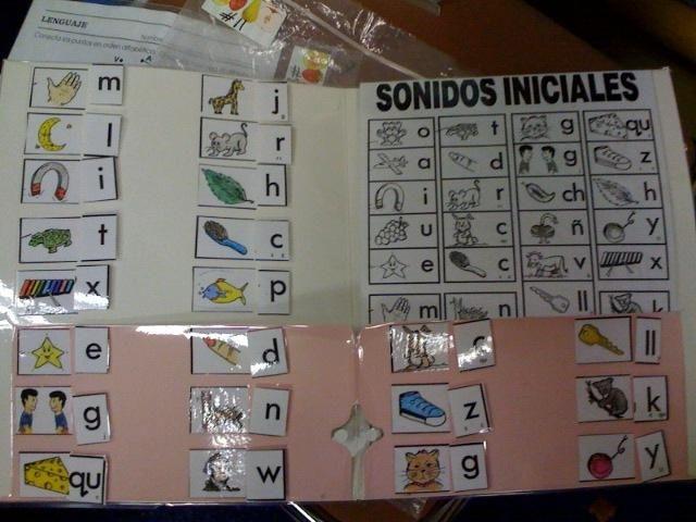 Estrellita Sonidos Iniciales Chart Match Letter To Sound