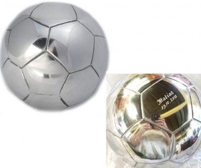 Personalised SOCCER BALL - Aluminium