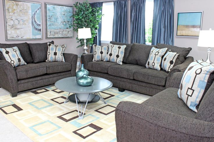 Brazil Sofa, Love, Chair & Ottoman Package - Living Room Furniture - Sale | Mor Furniture for Less