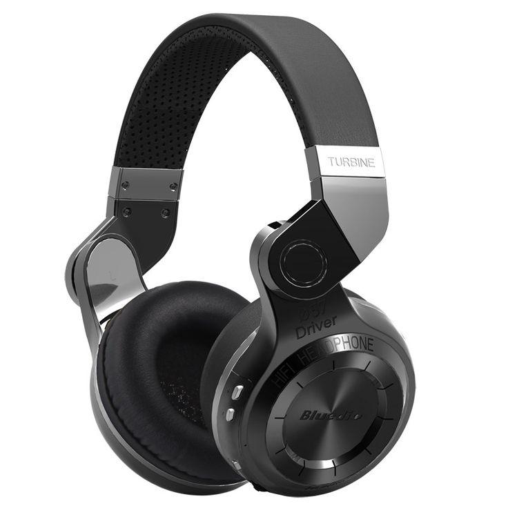 Bluedio T2 Bluetooth Stereo Headphones w/ Microphone