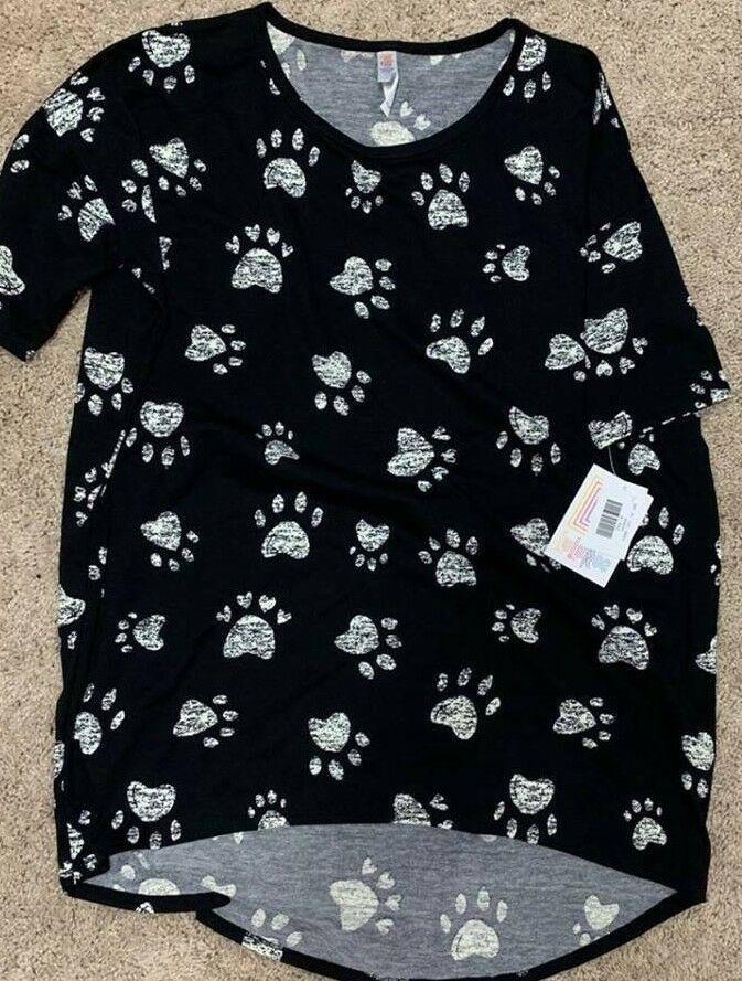 Women/'s T-Shirt Tee Shirt Fashion Casual Bodysuit Tops Pet Cat Dog/'s Footprint