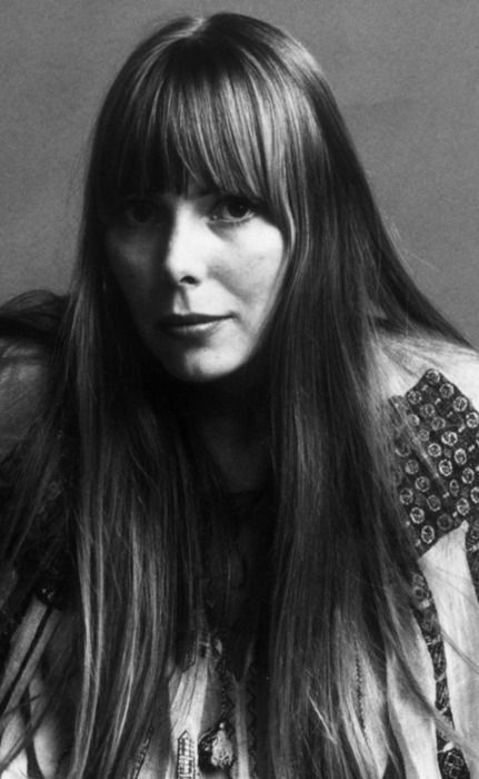 Joni Mitchell - Top 3 favourites songs:  No. 1 - Both Sides Now No. 2 - Big Yellow Taxi No. 3 - River