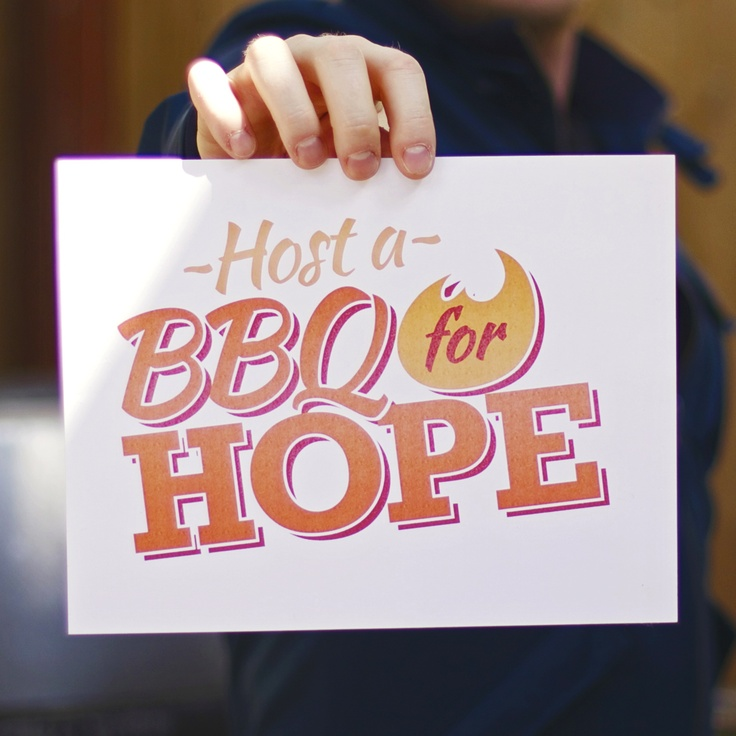 Host a BBQ for Hope!    With a simple backyard BBQ, you can raise awareness and funds to keep hope alive this summer. Simply invite friends, get 'grilling for good', share the needs of Edmonton's hurting and homeless and invite your guests to donate towards Hope Mission's meals and services. #yeg #fundraising