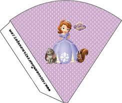 Resultado de imagem para lembrancinha da princesa sofia