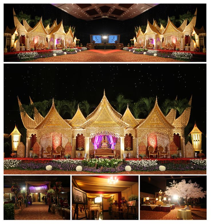 Minangese wedding decoration Decorator : Des Iskandar Venue : Menara 165