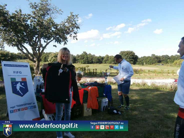 Jessica Iannello è la Regina del 2°Major 2014 di Footgolf ad Acquapendente (VT)