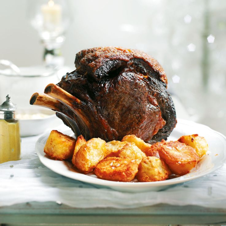 Roast Rib of Beef with Red Wine Gravy - Woman And Home