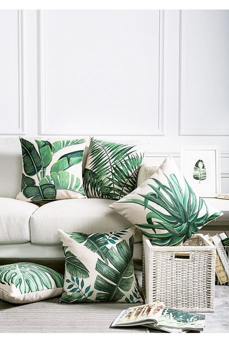 17 best ideas about tropical gardens on pinterest for Housse coussin 60x60