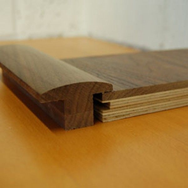 TM308   Walnut T-Moulding for 21mm thick Walnut Flooring