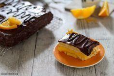 Torta+con+crema+all'arancia+e+cioccolato