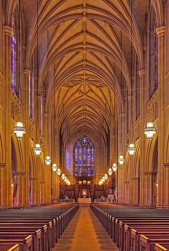 Duke University Chapel, Durham NC