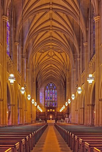 Duke University Chapel, Durham NC