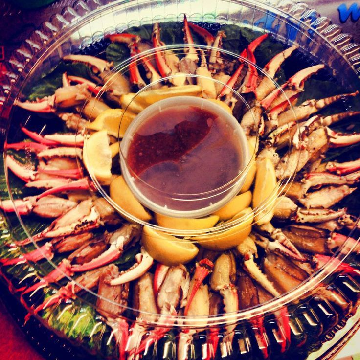 Cocktail Crab Claw Party Tray http://boulevardclams.net