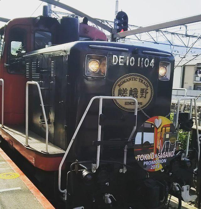 節分ですね☺ 想い出pic 京都嵐山、嵯峨野トロッコ列車 いつも混んでるみたいで 紅葉の季節はずしてリベンジ。2度目で乗れた それでもlackeyらしい✨ 途中の駅で鬼?ナマハゲ?が乗車してきて 超怖かった 振り返ったら 「写真とりましょうか?」て戻ってきてるし~ 私が一番びびってたかも 鬼つながり~ 鬼はそと~、福はうち~~ ・。・。ヾ(・ε・。)パラパラー #京都#嵯峨野#嵐山#トロッコ列車#嵯峨野トロッコ列車 #絶景#乗り物 #想い出pic #鬼がきた