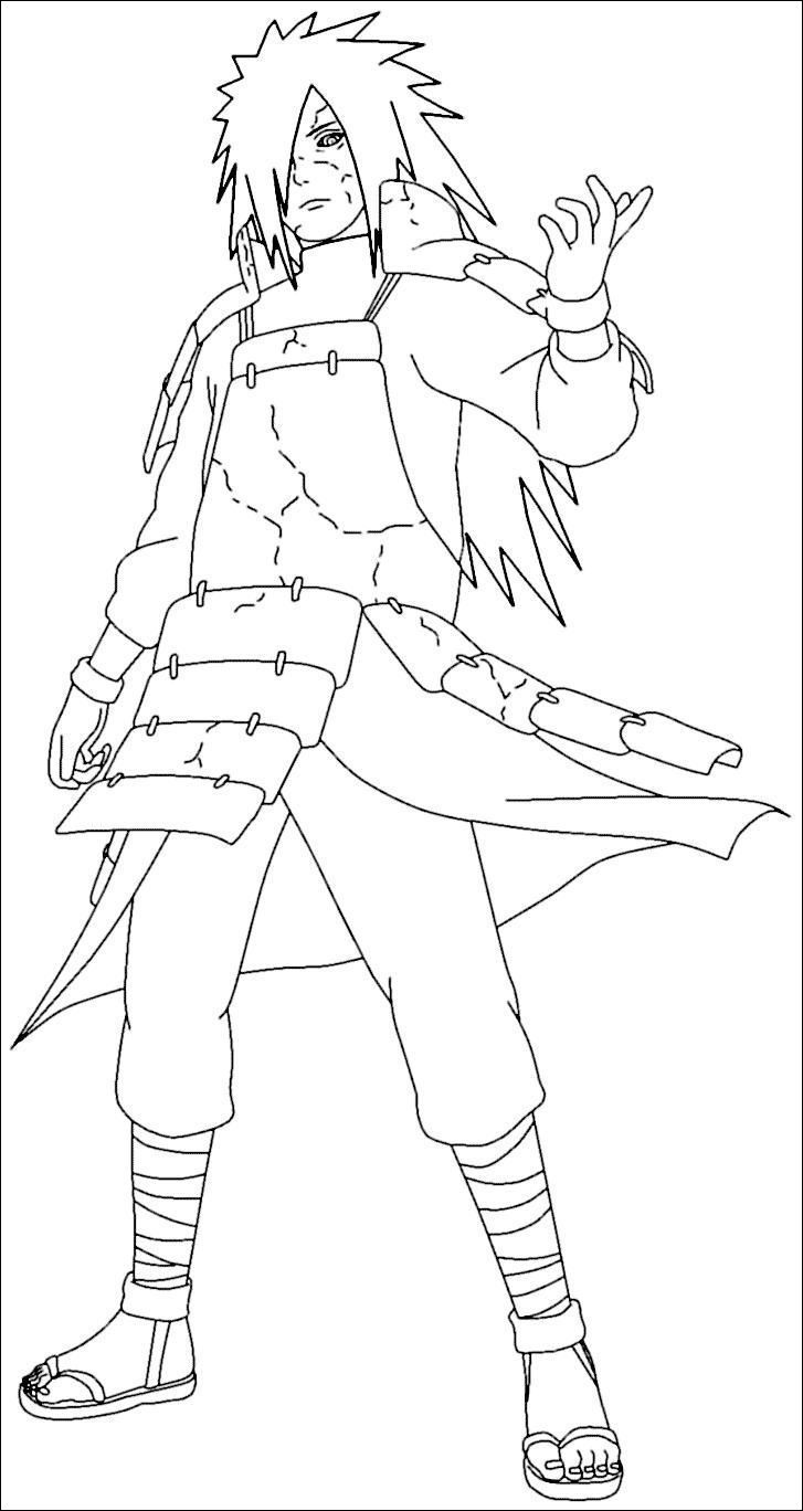 Coloriage De Naruto