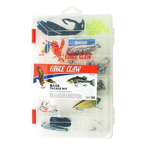 Bass Tackle Kit 55pcs