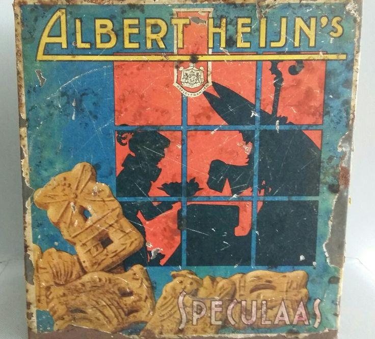 Albert Heijn koekblik / speculaasblik