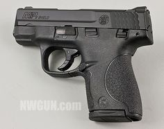 S & W | M & P Shield... I have it in 9mm and .40! Great gun!Loading that magazine is a pain! Get your Magazine speedloader today! http://www.amazon.com/shops/raeind