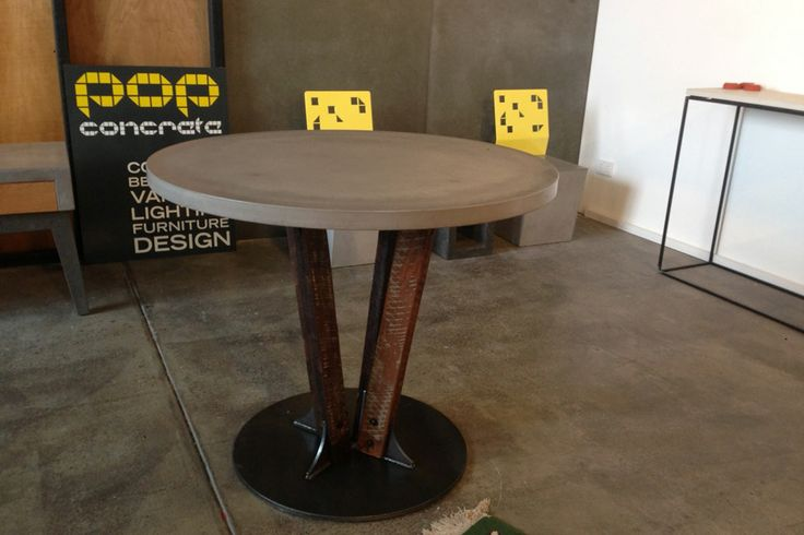 POPconcrete Malt Table on display in our Fortitude Valley Showroom
