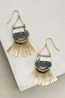 Meteor Shower Chandelier Earrings | Anthropologie