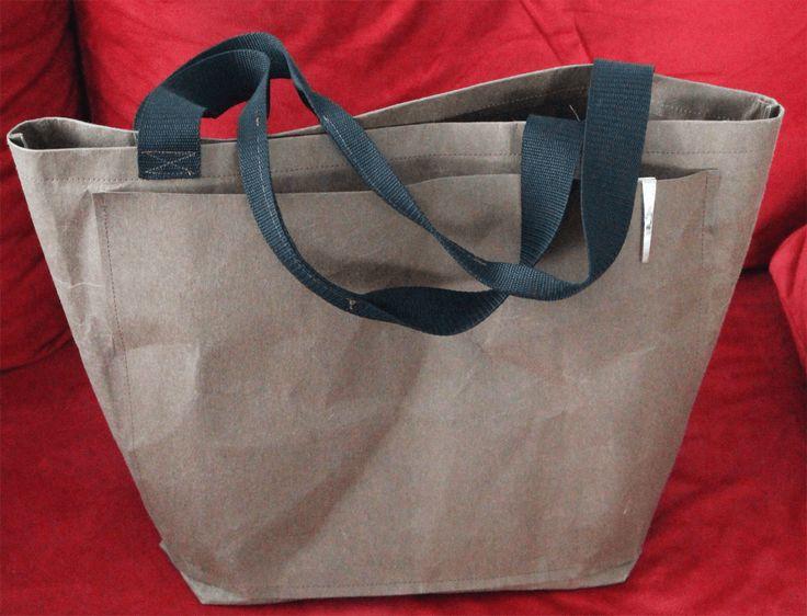 Einkaufstasche aus SnapPap | DIY | Schnittmuster gratis