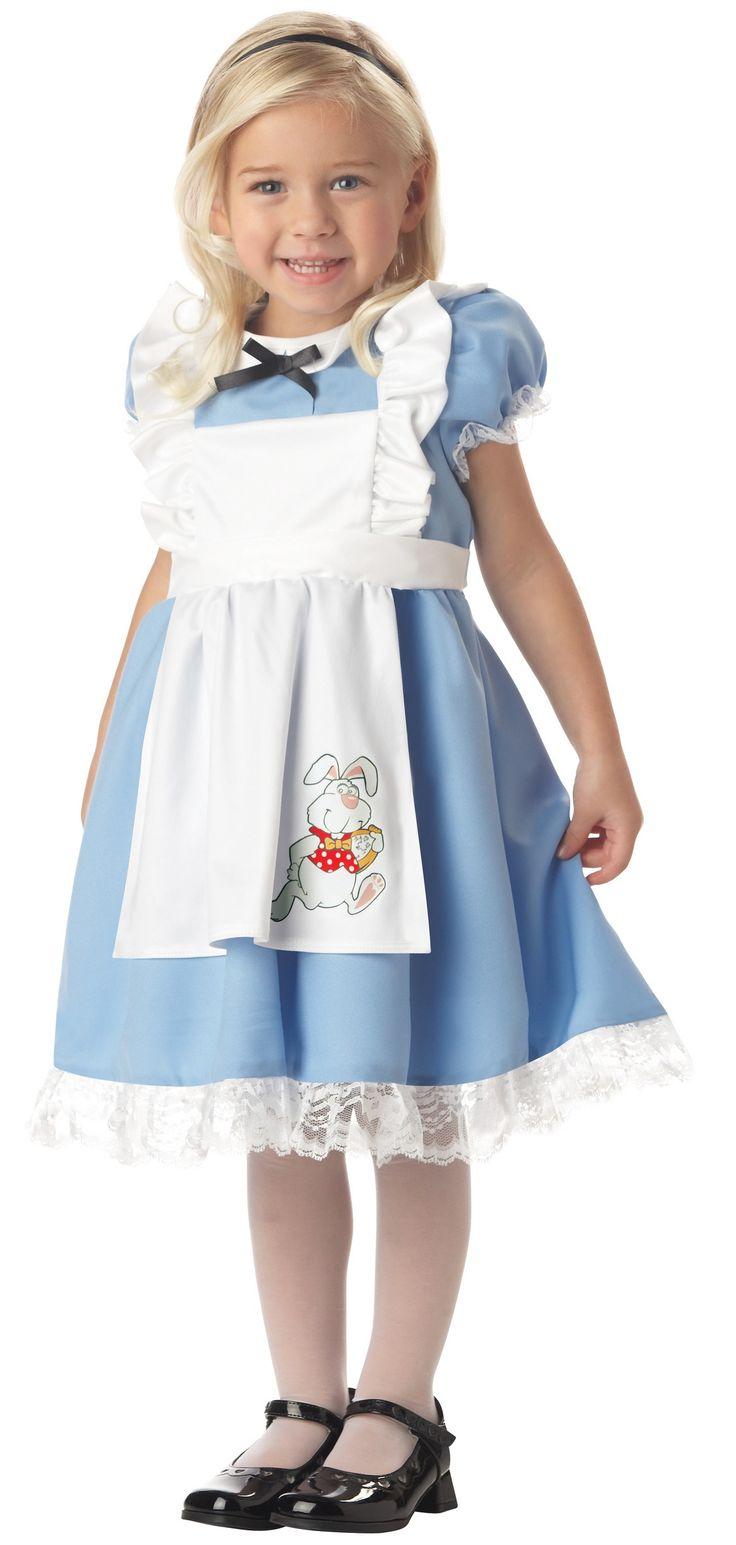 Купить Костюм Малышка Алиса (Дисней) детский k00069 для девочки 3-6 лет в интернет магазине My-Karnaval.ru