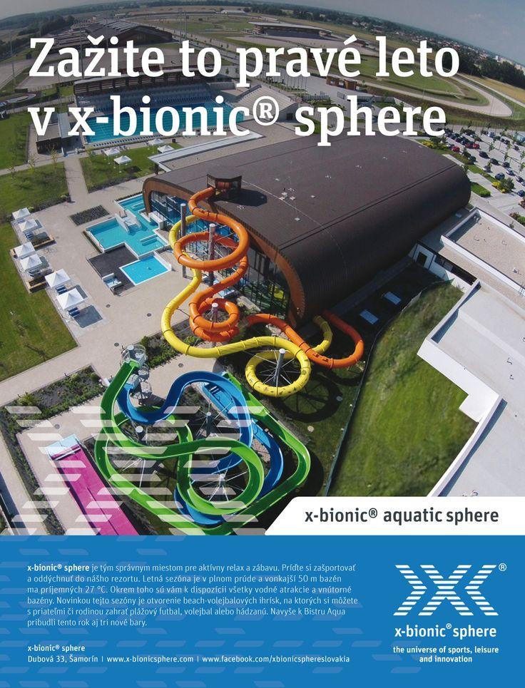 X-bionic®  sphere v Šamoríne  X-bionic® sphere s celkovou rozlohou viac ako 1 000 000 m2 poskytuje profesionálne podmienky pre výkon 27 olympijských športov. Súčasťou areálu je jedno z najmodernejších a najväčších olympijských jazdeckých centier, prvotriedny X-BIONIC® HOTEL i moderné kongresové centrum