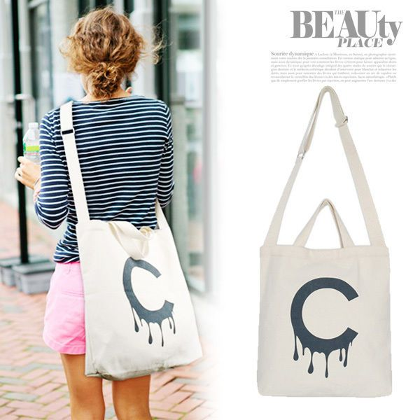 I like the this style Canvas Satchel bag. I found out on eBay site.