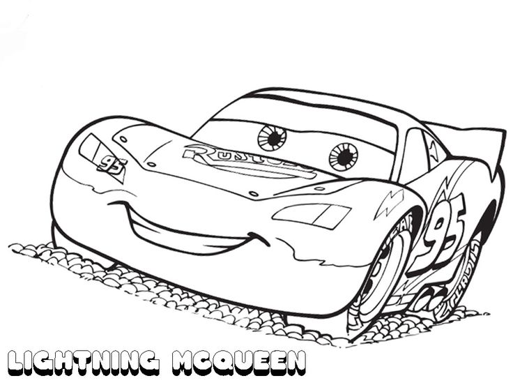 Is Your Child A Fan Of The Awesome Disney Movie Cars Well We Have A Treat For You Today Lightn Race Car Coloring Pages Disney Coloring Pages Coloring Books