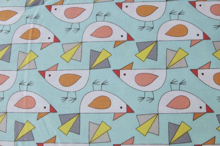 Vögel auf hellblau | www.pom-pon.ch