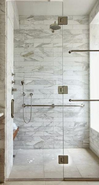 marble subway tile for master bathroom