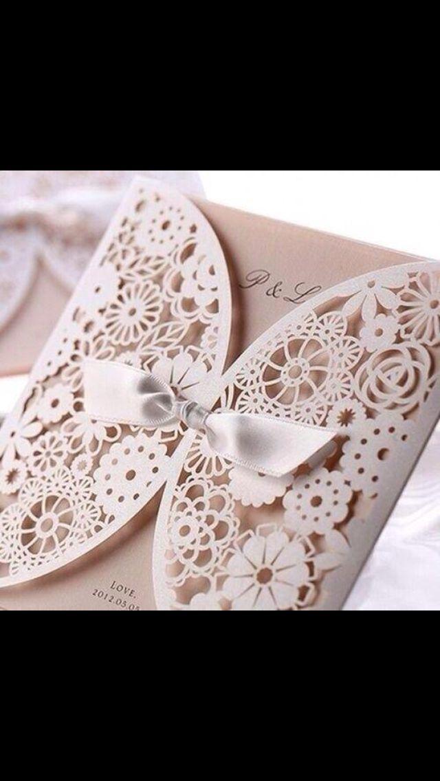 Lace Wedding Invataions