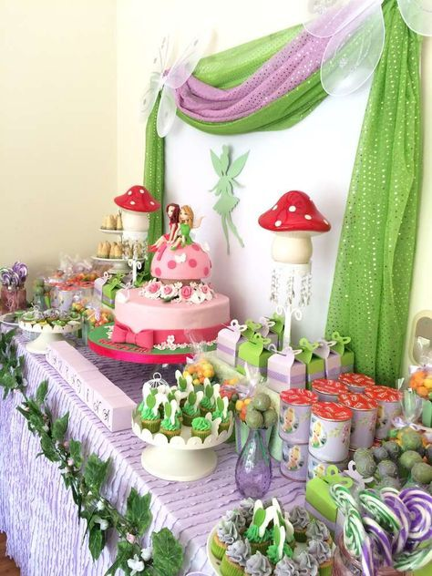 This Tinkerbell Birthday Party Is So Adorable Love The Cake See More Ideas And Share Yours At CatchMyParty