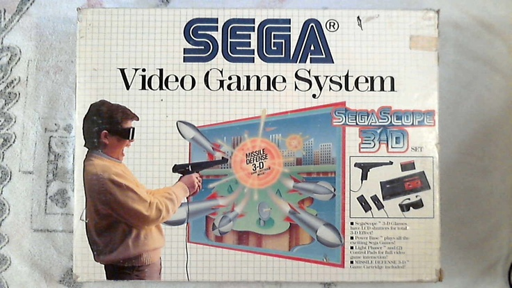 Sega Master System Box Front Excellent condition