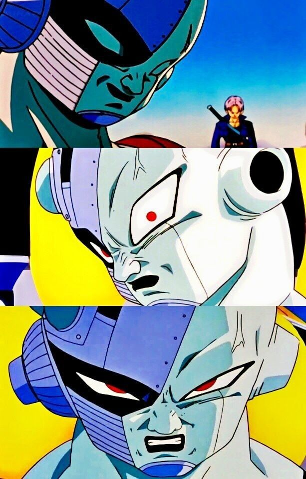 Trunks Del Futuro Vs Freezer Anime Dragon Ball Dragon Ball Z Dragon Ball