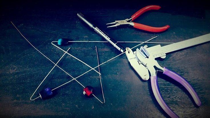 Silver Wrap Bracelets in the making - Mythika Handmade Jewelry in the Studio - Priya Jhavar