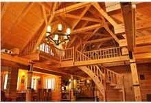 Interiér domu - dřevostavba Rožnov pod Radhoštěm