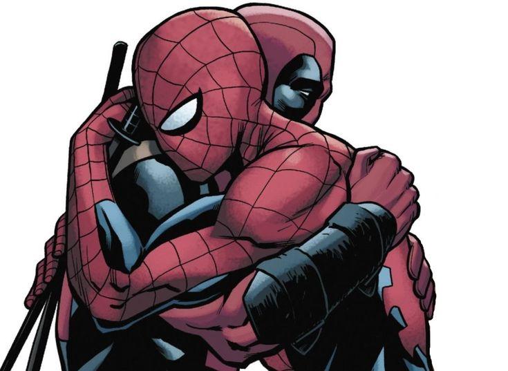 картинки марвел дэдпул и человек паук скандально известная