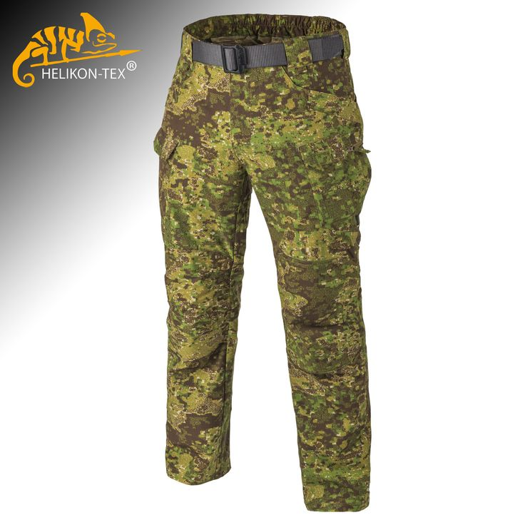 Helikon Urban Tactical Pants in PenCott GreenZone camo are in stock now at Military 1st online store. Robust and functional, these comfortable combat trousers come with 12 practical pockets, elastic waist and strengthened knees. Only £76.00! Free UK delivery and returns! Competitive overseas shipping rates.