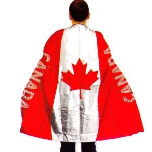Canadian Fan Cape