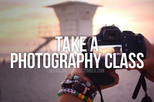 Take a Photography Class