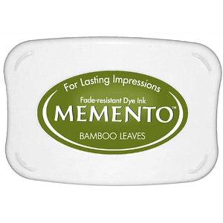 Tsukineko Memento Ink Pad Bamboo Leaves
