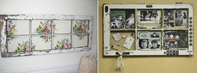 Transforme uma janela velha em um item novo da sua decoração! » Blog de Decoração LojasKD