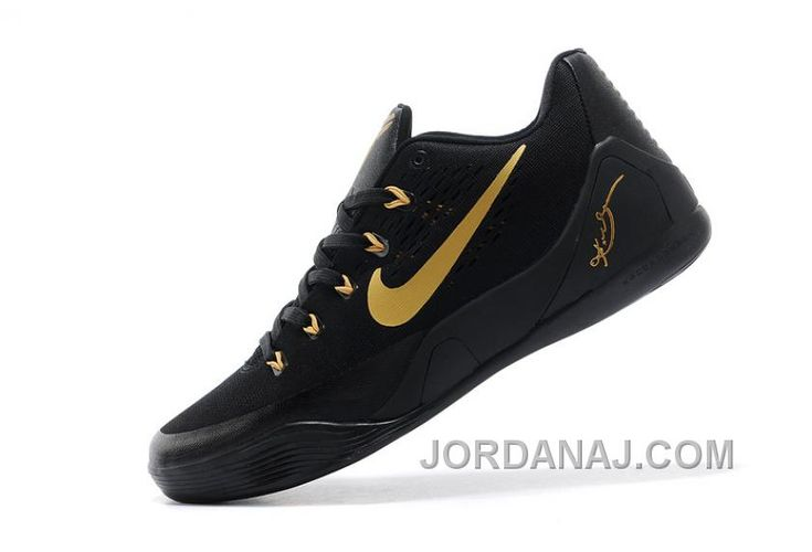 http://www.jordanaj.com/online-nike-kobe-9-low-em-black-gold-mens-for-sale.html SALE NIKE KOBE 9 LOW EM BLACK GOLD FOR MENS ONLINE Only $90.00 , Free Shipping!