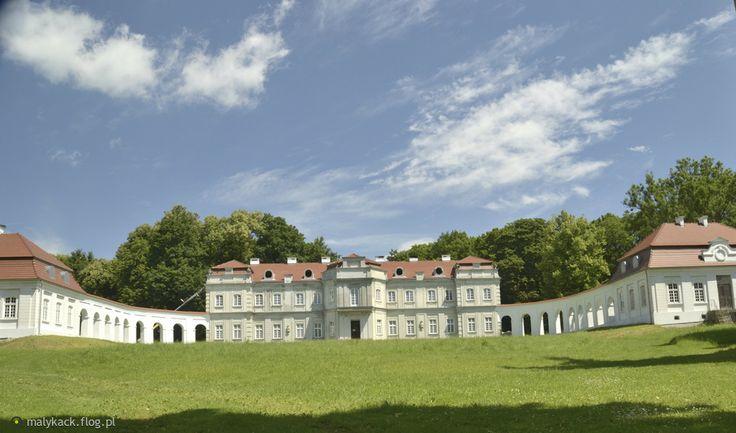 Pałac w Narolu. XVIII- wieczny pałac Łosiów w Narolu, aktualnie obiekt prywatny w trakcie odbudowy.