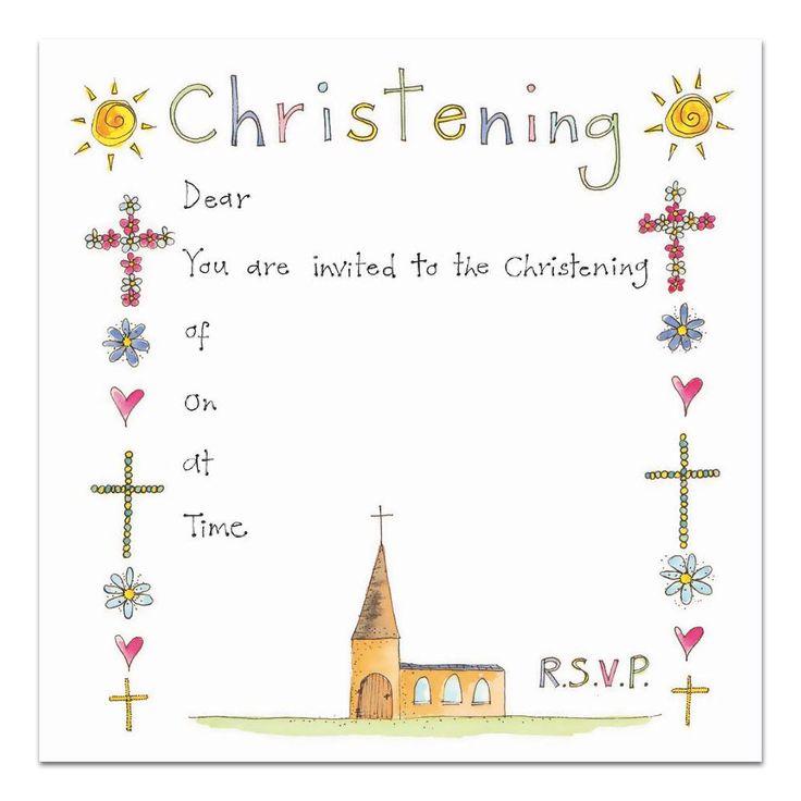 Best 300+ baptism invitations images on Pinterest | Christening ...