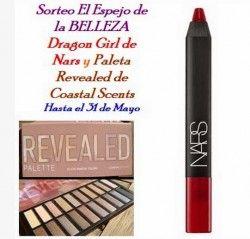 Pencil DRAGON GIRL + Paleta de sombras REVEALED de COASTAL SCENTS ^_^ http://www.pintalabios.info/es/sorteos_de_moda/view/es/3217 #ESP #Sorteo #Maquillaje