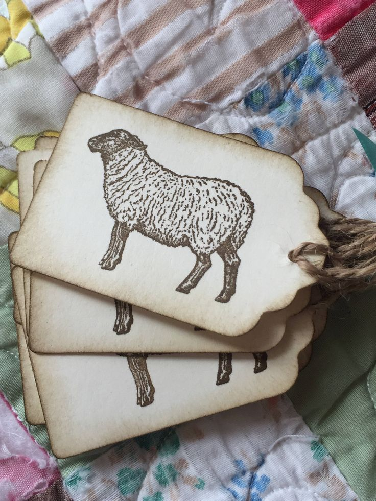 Excited to share the latest addition to my #etsy shop: Sheep - Country Sheep tags - Barnyard - Farm  - Rustic Sheep Old Fashioned - Barn Wedding - Favor Tags - labels - barn wedding party -