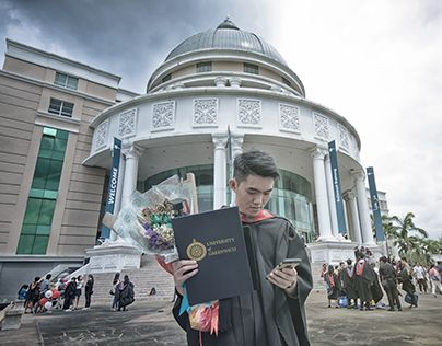 """Check out new work on my @Behance portfolio: """"Mr.Ng's Graduation Ceremony 