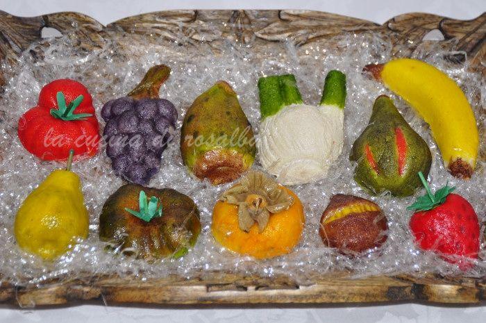 frutta martorana  #ricetta #dolcideimorti